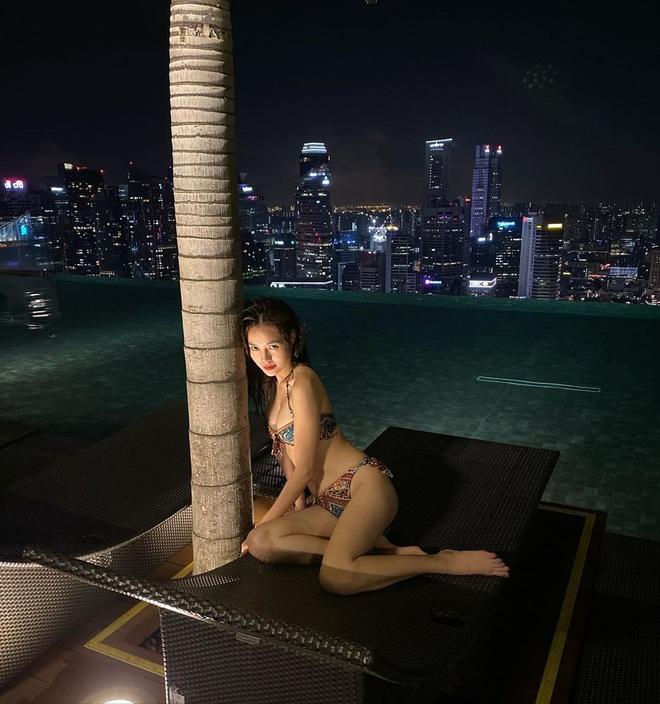 """""""Thám tử showbiz"""" tung thêm bằng chứng Ninh Dương Lan Ngọc - Chi Dân du lịch ở Singapore, gì mà lộ liễu thế này? - Ảnh 4."""