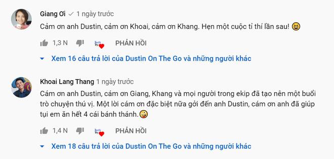 Xóa tan nghi án ái ngại vì lùm xùm của hội bạn thân, Giang Ơi và Khoai Lang Thang tương tác cực đáng yêu trên talkshow - ảnh 7