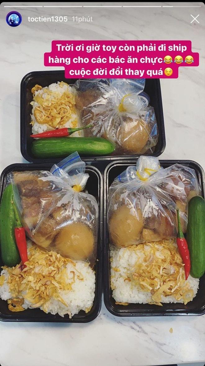 Trend mới dự sẽ lên ngôi mùa dịch: Ở nhà nấu ăn rồi ship cho nhau, trước mắt có Tóc Tiên, Châu Bùi, Linh Rin vào cuộc rồi nè - ảnh 2