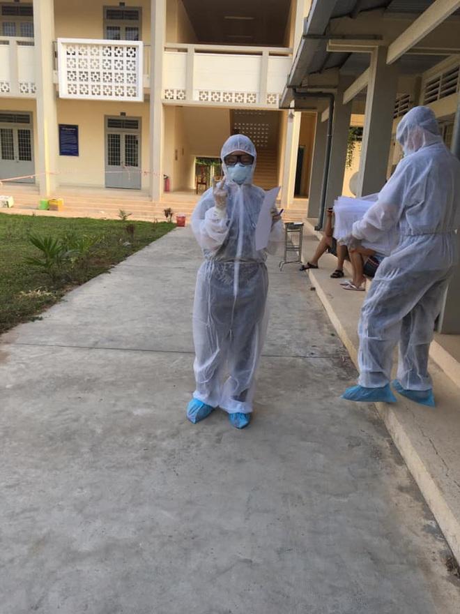 Nữ sinh viên trường Y tình nguyện làm việc ở khu cách ly: Người tuyến đầu chống dịch còn không sợ chết thì mình sợ cái gì? - ảnh 3