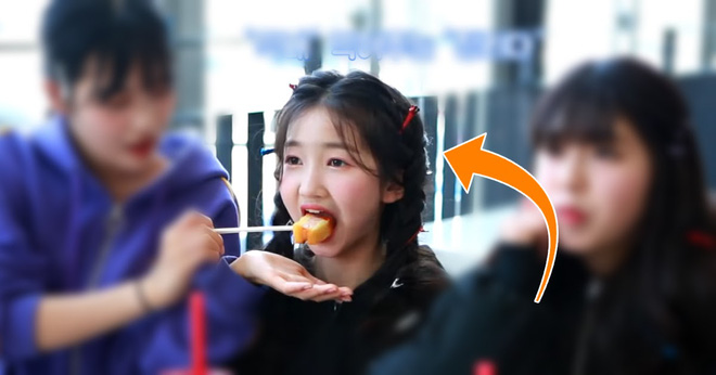 Nữ Idol 14 tuổi có ngoại hình như em bé: So sánh với center của IZ*ONE quả là một trời một vực! - ảnh 1
