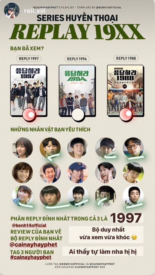 Series Reply 19XX khiến sao Việt phát cuồng: Diệu Nhi một lòng với Park Bo Gum, Nicky cày sạch cả 3 phần, Jun Phạm thốt lên đúng 3 từ! - ảnh 25