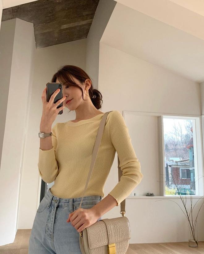 Ra là nhờ một thủ thuật, gái Hàn để kiểu tóc buộc thấp, búi thấp mới sang chảnh và cuốn hút đến vậy - ảnh 4