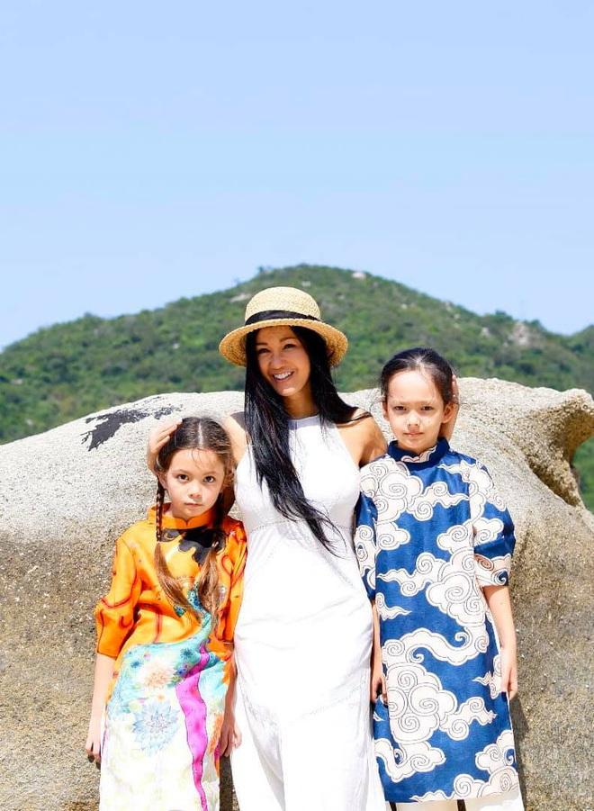 Diva Hồng Nhung khoe ảnh 2 nhóc tỳ mừng sinh nhật 8 tuổi: Công chúa nhỏ chiếm trọn spotlight vì nét đẹp đầy tiềm năng - ảnh 5