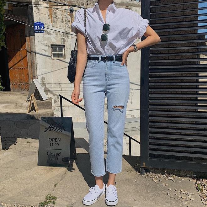6 kiểu quần jeans hot nhất hè này, chị em muốn được khen ăn mặc sang xịn, trendy hãy update ngay - Ảnh 6.