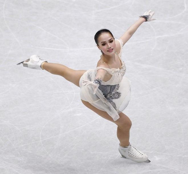 'Thiên thần' trượt băng được ông Putin chúc mừng sinh nhật - ảnh 1