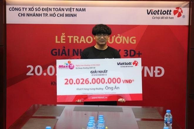 Nam sinh viên không đeo mặt nạ nhận độc đắc hơn 20 tỷ đồng tại Sài Gòn - Ảnh 2.