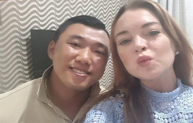 Lực sĩ Hàn Quốc Ha Je-yong: Bạn trai tin đồn của Lindsay Lohan, bắp chuột to như vòng eo Ngọc Trinh, treo thưởng 1.000 USD cho ai vật tay thắng mình - ảnh 3