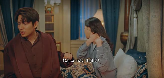 Tập 12 Quân Vương Bất Diệt trả bài cực hot cảnh giường chiếu của Lee Min Ho: Hết hôn cổ tới luôn bước hạ sinh thái tử? - ảnh 6