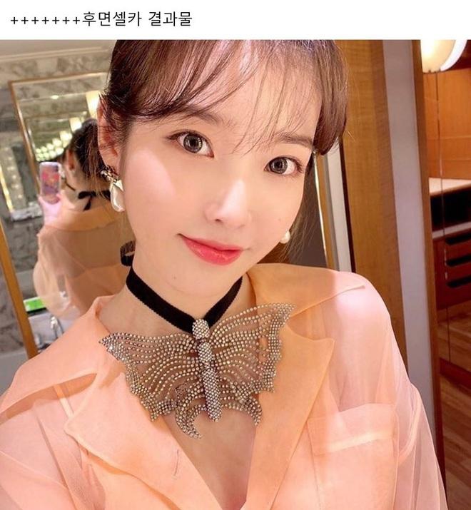 Hiếm idol nữ nào selfie mà đạt đến độ đẹp điên đảo như IU, kéo đến hình siêu zoom lồ lộ làn da và đường nét mới choáng - ảnh 7