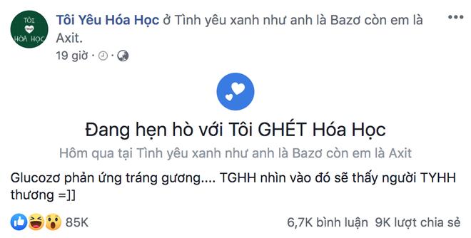 Sau màn thua đau đớn, admin Tôi Yêu Hoá Học có màn tỏ tình cực ngọt ngào với đối thủ, đỉnh nhất là câu thả thính ai nghe cũng dính - ảnh 3