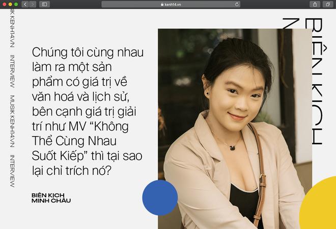 """Biên kịch MV của Hòa Minzy: """"Bị sốc vì đọc bình luận, không lẽ phải làm MV dở hơn để khán giả tập trung vào âm nhạc?"""" - ảnh 5"""