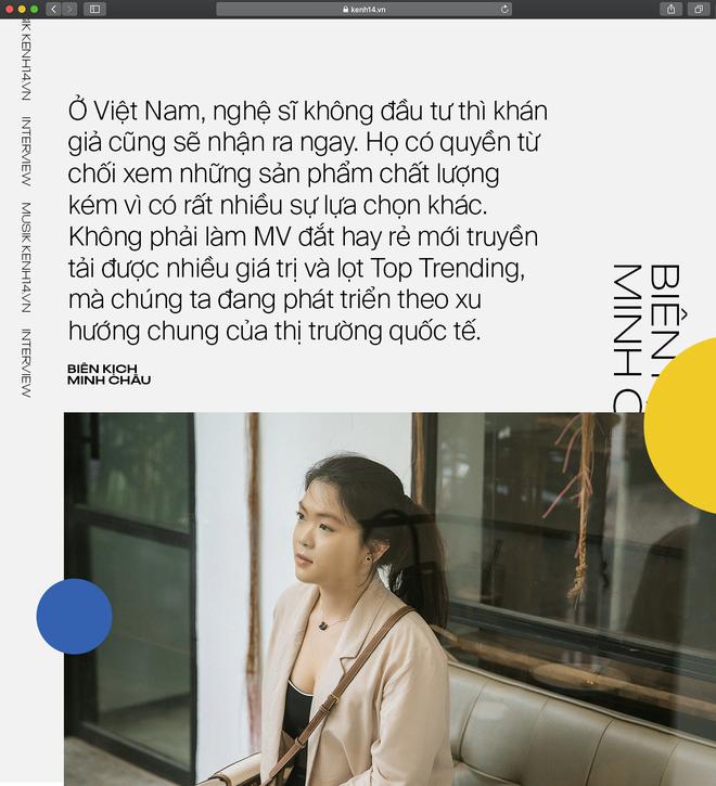 """Biên kịch MV của Hòa Minzy: """"Bị sốc vì đọc bình luận, không lẽ phải làm MV dở hơn để khán giả tập trung vào âm nhạc?"""" - ảnh 9"""