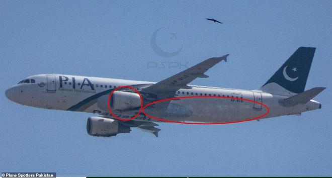 Máy bay rơi ở Pakistan: Vết cháy xém bên dưới các động cơ - ảnh 2