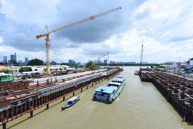 Toàn cảnh công trình chống ngập 10.000 tỷ đồng sắp hoàn thành sau 4 năm thi công ở Sài Gòn - Ảnh 6.
