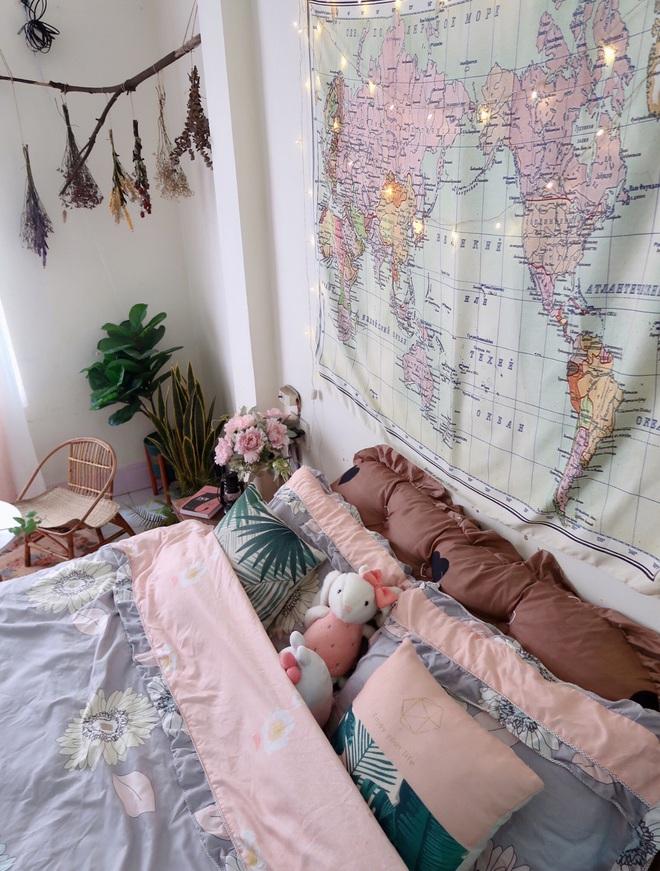 Cô gái 28 tuổi vượt qua cú shock chia tay bằng cách cải tạo nhà: Buồn gì cũng qua, chỉ buồng ngủ đẹp là bên ta mỗi ngày - ảnh 9