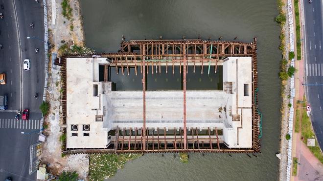 Toàn cảnh công trình chống ngập 10.000 tỷ đồng sắp hoàn thành sau 4 năm thi công ở Sài Gòn - Ảnh 3.