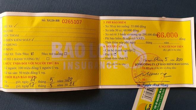 Để được hưởng bảo hiểm xe máy, phải chuẩn bị những giấy tờ gì? - ảnh 3