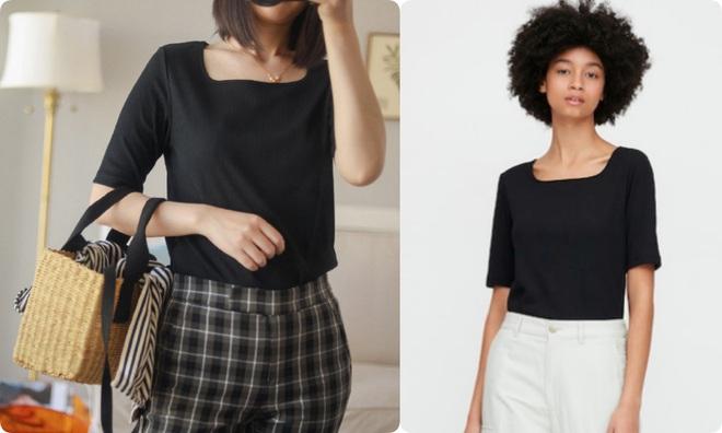 Thử 8 dáng áo phông cơ bản của Uniqlo, cô nàng này còn khuyến mại thêm vài cách mặc chanh sả hay ho - ảnh 14