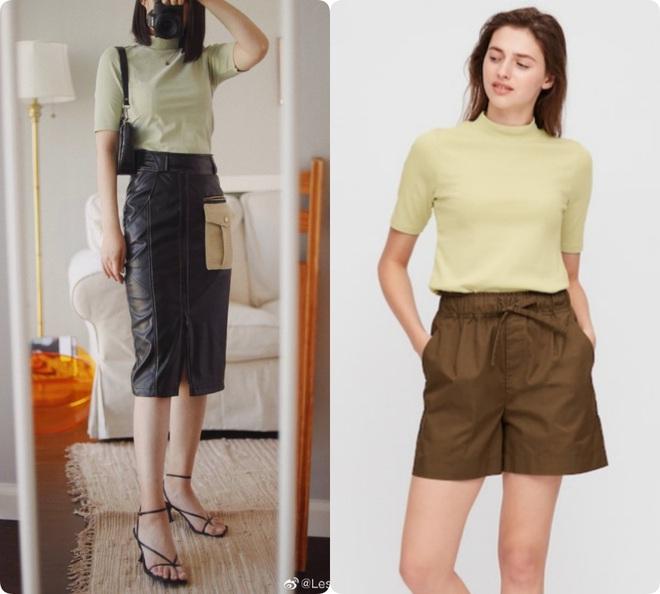 Thử 8 dáng áo phông cơ bản của Uniqlo, cô nàng này còn khuyến mại thêm vài cách mặc chanh sả hay ho - ảnh 16