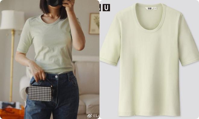 Thử 8 dáng áo phông cơ bản của Uniqlo, cô nàng này còn khuyến mại thêm vài cách mặc chanh sả hay ho - ảnh 4