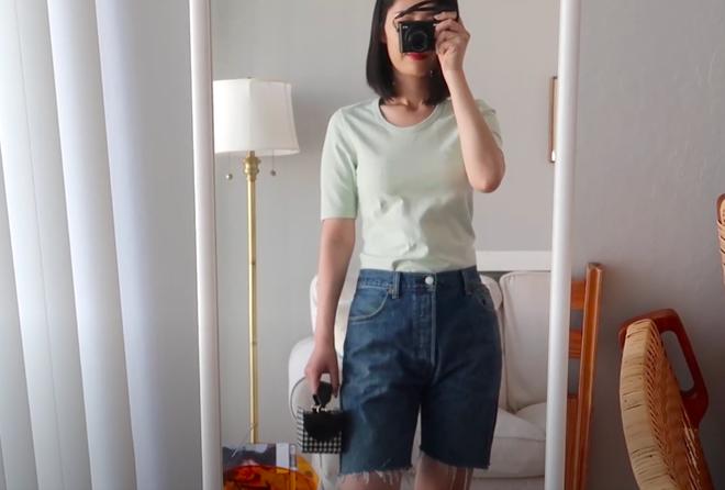 Thử 8 dáng áo phông cơ bản của Uniqlo, cô nàng này còn khuyến mại thêm vài cách mặc chanh sả hay ho - ảnh 5