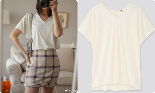 Thử 8 dáng áo phông cơ bản của Uniqlo, cô nàng này còn khuyến mại thêm vài cách mặc chanh sả hay ho - ảnh 6