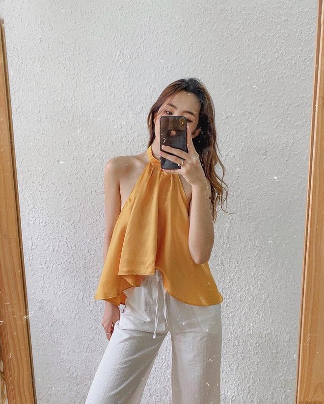 Kiểu áo váy khoét lưng gợi cảm na ná áo Jennie đang cực hot ở các shop mà giá lại chỉ vài ba trăm, chị em còn chờ gì mà không tậu - ảnh 9