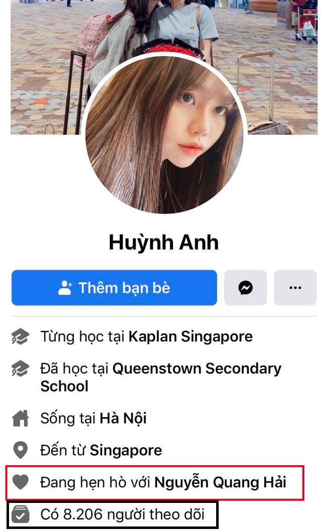 Huỳnh Anh bỏ trạng thái hẹn hò với Quang Hải trong đêm trước khi về ra mắt gia đình - ảnh 1