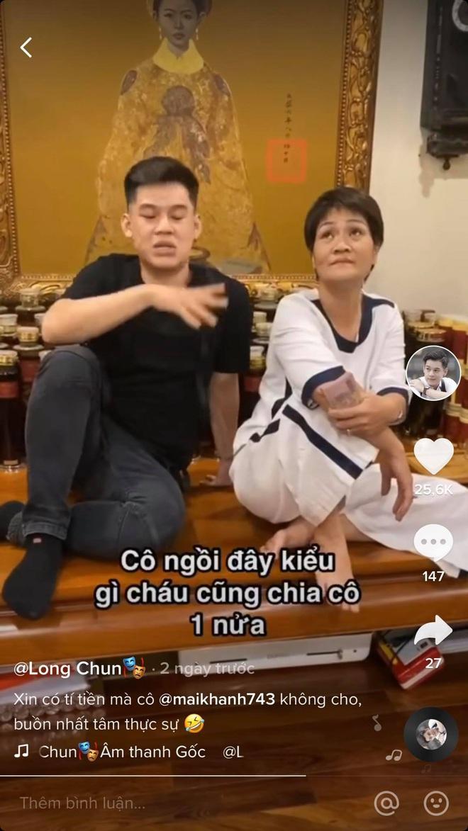 Thánh đanh đá Long Chun nói về mối quan hệ với dân chơi phố cổ cô Mai Khanh: Là cô cháu ruột, xéo xắt do gen - ảnh 5