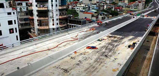Hà Nội: Toàn cảnh tuyến đường trên cao gần 9.500 tỷ sau 2 năm thi công - ảnh 2