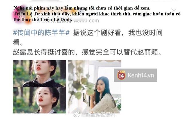 Blogger xứ Trung dự đoán Tiểu Song Hye Kyo sẽ soán ngôi Triệu Lệ Dĩnh, netizen hậm hực: Ngừng so sánh đi! - ảnh 1