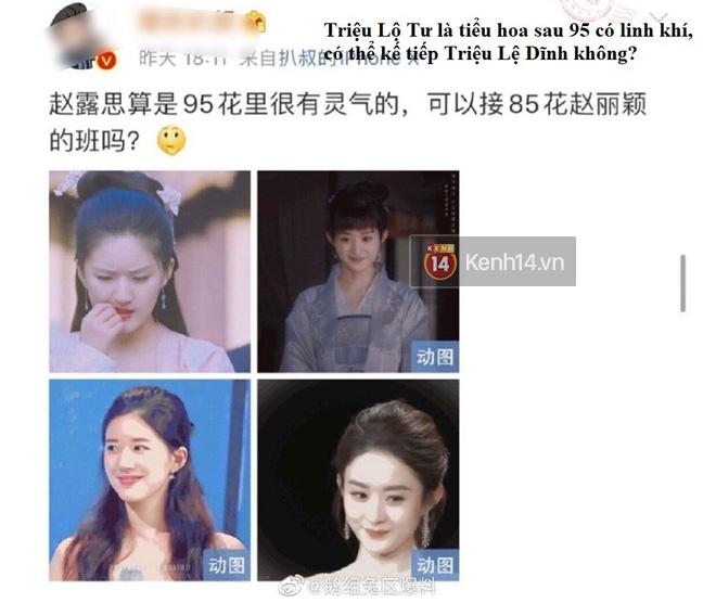 Blogger xứ Trung dự đoán Tiểu Song Hye Kyo sẽ soán ngôi Triệu Lệ Dĩnh, netizen hậm hực: Ngừng so sánh đi! - ảnh 2