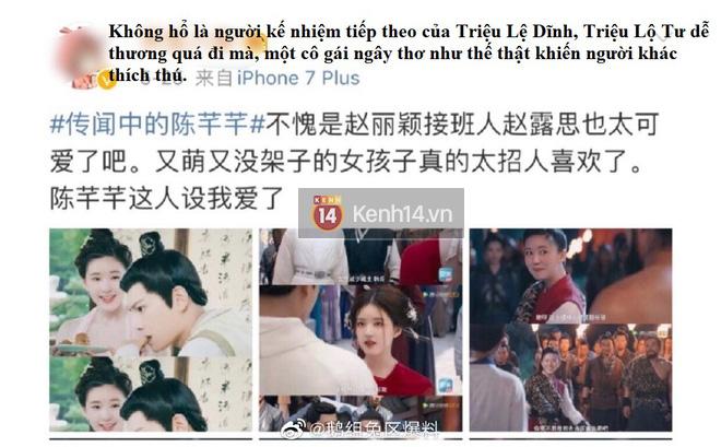 Blogger xứ Trung dự đoán Tiểu Song Hye Kyo sẽ soán ngôi Triệu Lệ Dĩnh, netizen hậm hực: Ngừng so sánh đi! - ảnh 3