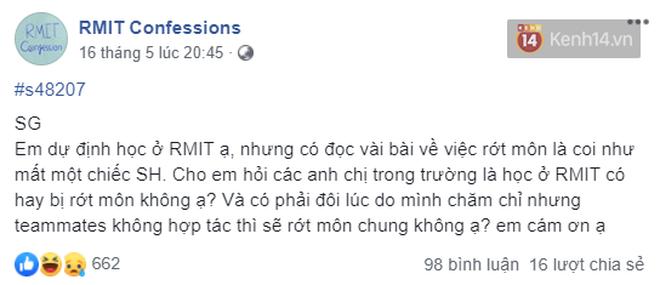 Trường con nhà giàu RMIT mở confession đậm mùi sang chảnh: Hỏi ông chủ đi xe máy sinh viên đi ô tô được không, 1 tỷ đóng học có đủ? - ảnh 3