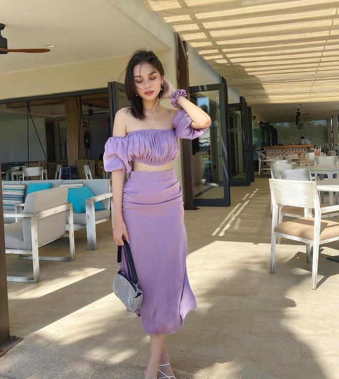 Hè này mà không sắm đồ màu tím lilac thì tụt hậu quá, mách ngay cho chị em 10 món xinh xẻo sành điệu giá từ 300k kèm luôn chỗ mua - ảnh 9