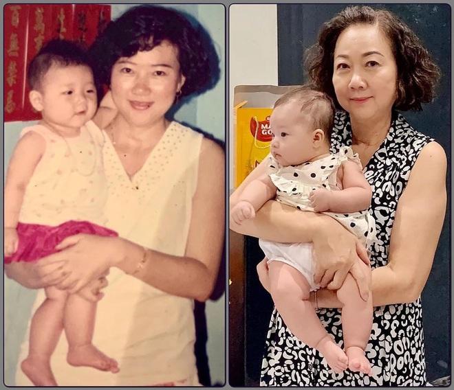 Em gái Trấn Thành khoe con gái 3 tháng tuổi siêu cấp đáng yêu, nhưng nhan sắc mẹ nam MC sau 27 năm mới đáng kinh ngạc - ảnh 3