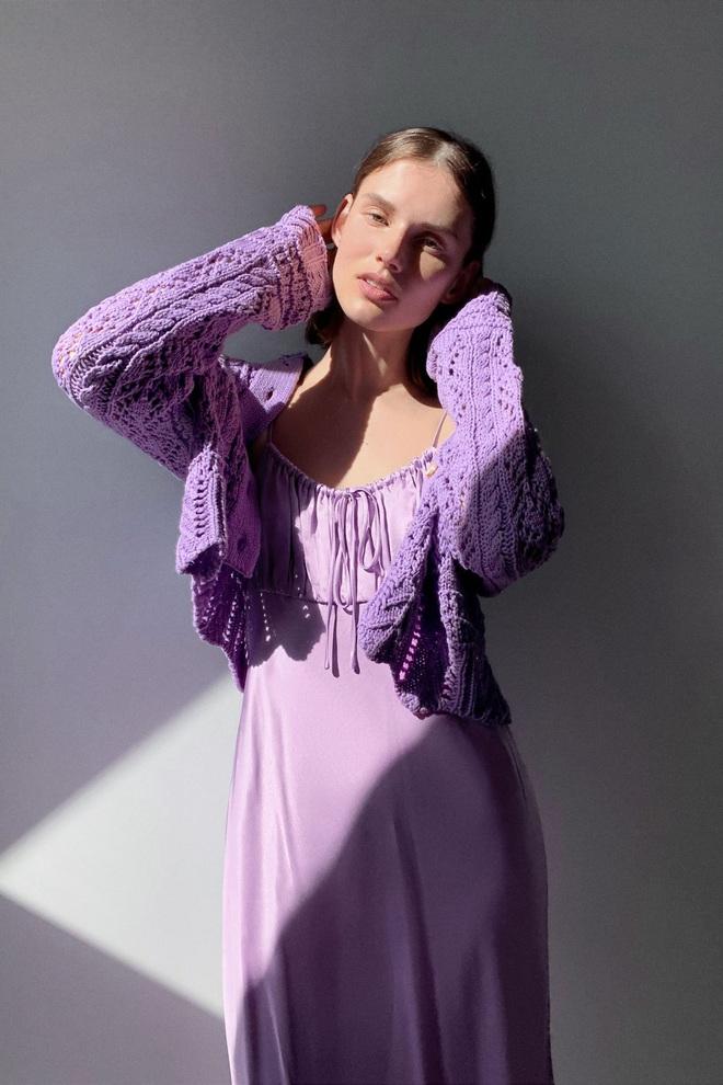 Hè này mà không sắm đồ màu tím lilac thì tụt hậu quá, mách ngay cho chị em 10 món xinh xẻo sành điệu giá từ 300k kèm luôn chỗ mua - ảnh 13