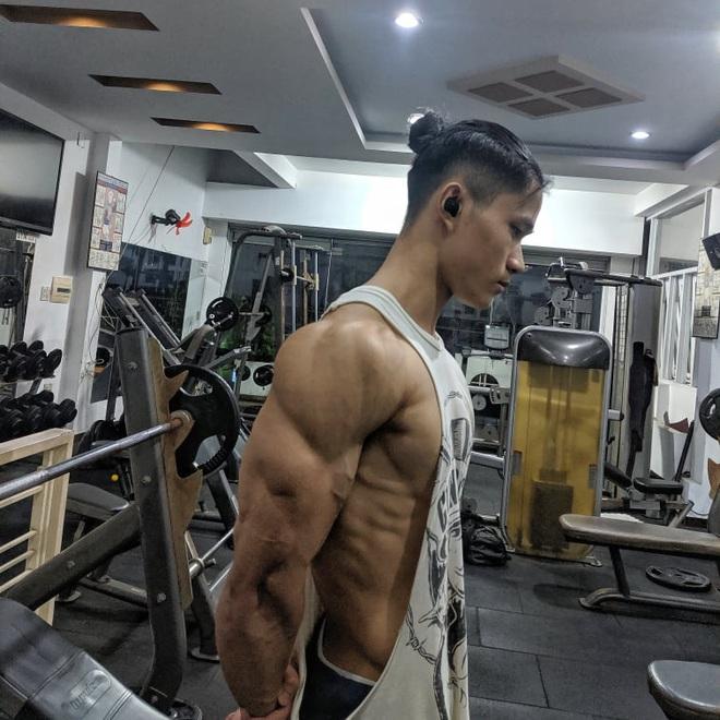 Thanh niên da bọc xương lột xác thành trai cơ bắp nhờ tăng 20kg trong một năm: Còn ai đòi gầy để đẹp nữa không? - ảnh 5