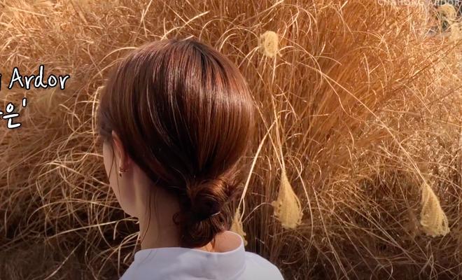 3 kiểu tóc búi thấp gái Hàn diện nguyên hè: Mát lịm mà vẫn cực sang, chưa mất 1 phút đã xong ngay - ảnh 9