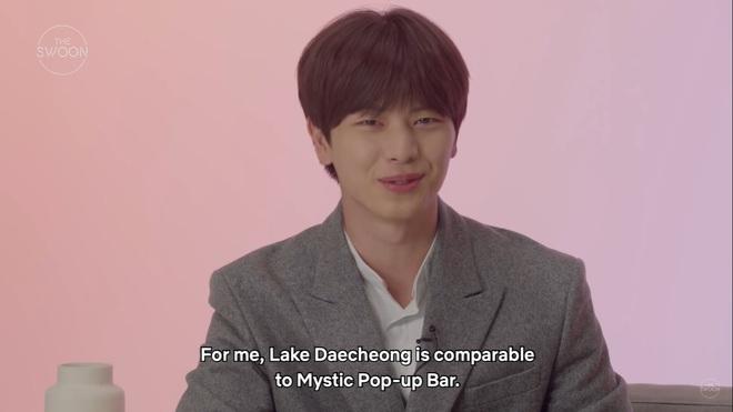 Dàn sao Mystic Pop-up Bar bật mí 1001 bí mật: Hwang Jung Eum là con gái Long Vương, Yook Sung Jae sâu sắc dữ thần - ảnh 10