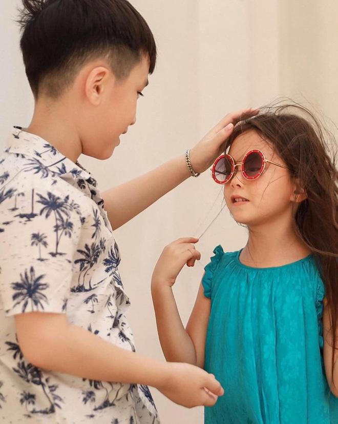 """Thu Trang tung loạt ảnh new couple"""" cực tình của quý tử và con gái Đoan Trang: Chờ gì mà không """"đẩy thuyền"""" nè cô chú ơi! - ảnh 2"""