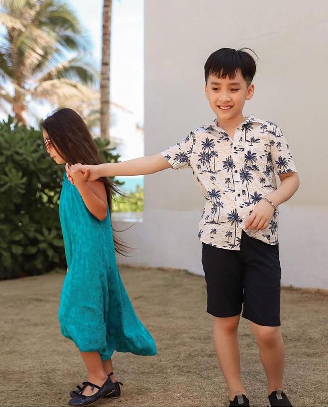 """Thu Trang tung loạt ảnh new couple"""" cực tình của quý tử và con gái Đoan Trang: Chờ gì mà không """"đẩy thuyền"""" nè cô chú ơi! - ảnh 5"""