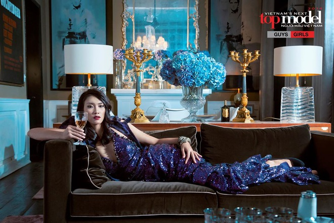Bạn trai CEO màu tím của Người ấy là ai từng tham gia Vietnam's Next Top Model với 2 vai trò đặc biệt! - ảnh 14