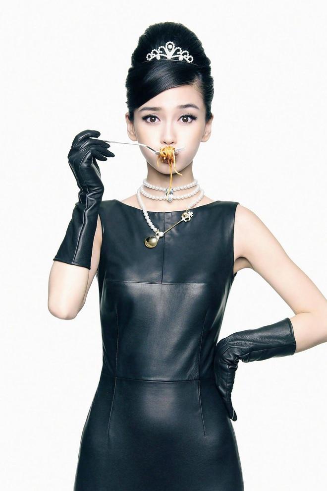Nữ thần Cbiz hoá thân thành Audrey Hepburn: Angela Baby - Dương Mịch kiêu sa sang chảnh, kéo đến mỹ nhân cuối ai cũng hết hồn - Ảnh 5.
