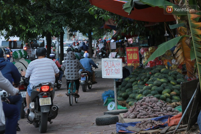 Ảnh: Hoa quả với giá rẻ giật mình đổ bộ khắp vỉa hè Hà Nội - ảnh 7