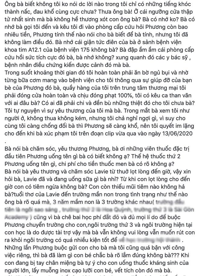 NÓNG: Bảo mẫu của con gái Mai Phương quyết kiện ngược bố mẹ cố diễn viên và luật sư, công khai đăng đàn đấu tố - Ảnh 7.