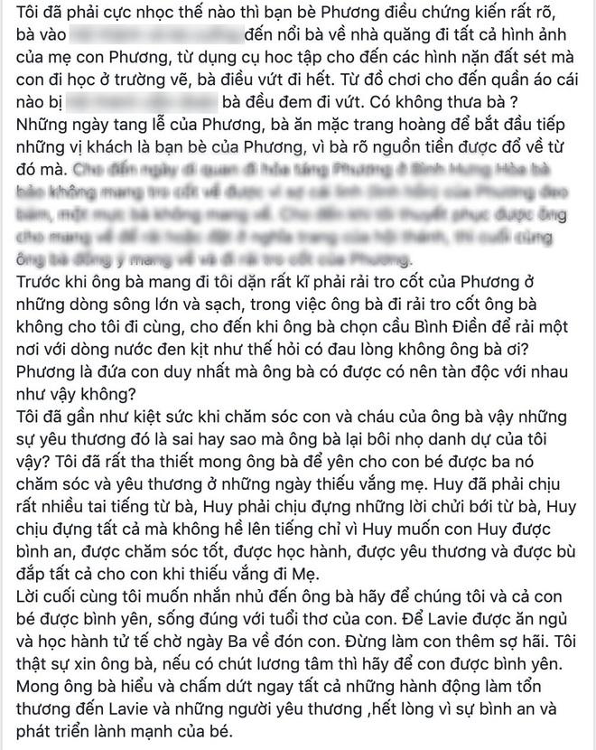 NÓNG: Bảo mẫu của con gái Mai Phương quyết kiện ngược bố mẹ cố diễn viên và luật sư, công khai đăng đàn đấu tố - Ảnh 8.