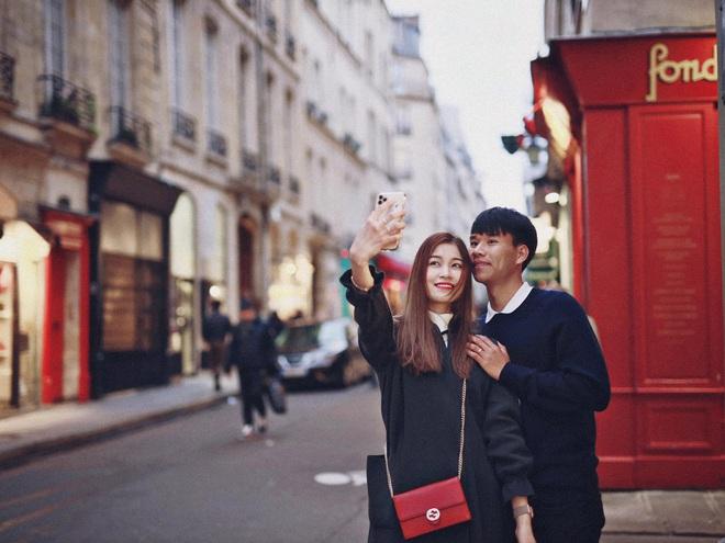 Nhìn Quỳnh Anh được chồng chiều, bạn gái giàu sụ của hậu vệ CLB Hà Nội cũng háo hức muốn bầu theo - ảnh 6