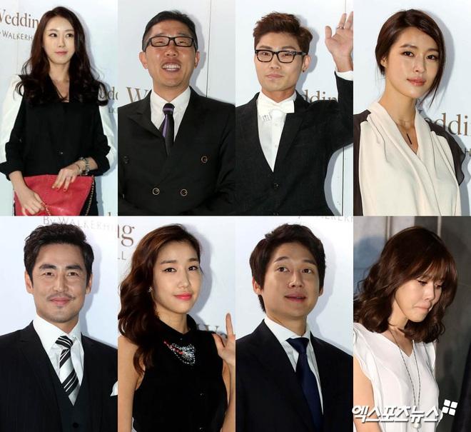"""Đám cưới ca sĩ """"Secret Garden"""" lên top Naver vì như """"bê"""" nửa Kbiz đến chung vui: Yoo Jae Suk, Park Bo Young, Sistar, cả chủ tịch JYP tụ họp đủ - ảnh 4"""